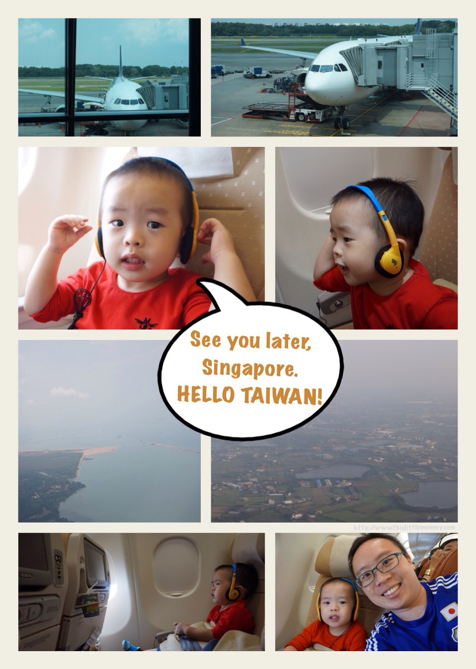 See you later, Singapore. Hello Taiwan!